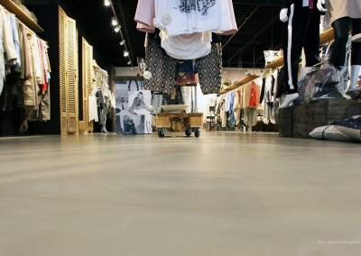 Duo Art polyurethaan gietvloer | betonlook