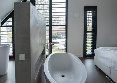 badkamer polyurethaan gietvloer Lent | NCS S 5005 Y 50 R