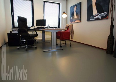 Mono Art gietvloer | PU | kantoorpand