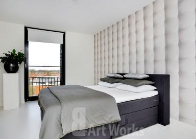 Mono Art gietvloer polyurethaan - Gietvloer Mono Art slaapkamer