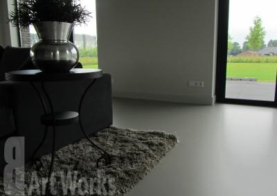 Mono Art gietvloer polyurethaan | RAL7030